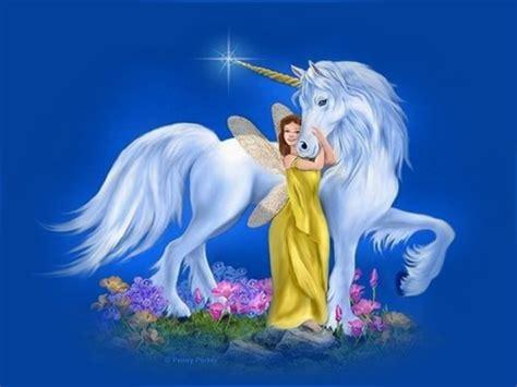 Unicorn Fairy Desktop Wallpaper