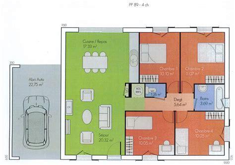 plans des maisons des olivades les maisons des olivades