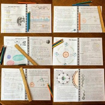 sun earth moon system bundle   student