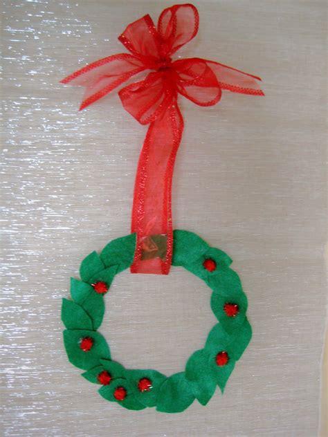 4 crazy kings christmas kids craft simple wreath