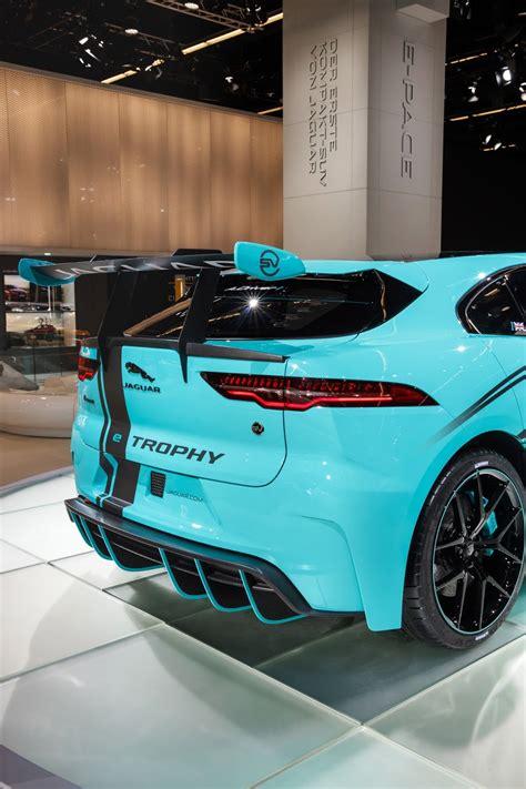 jaguar details  pace race car built  jlrs svo division
