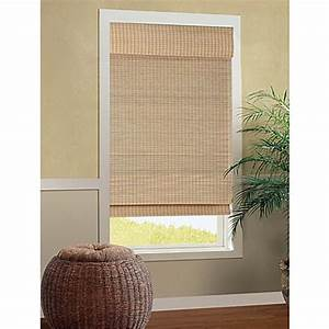 b smith cali roman cordless bamboo shade in natural bed With bed bath and beyond roman blinds