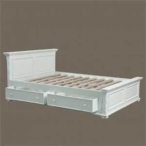 Lit De Camp 2 Personnes : lit tiroirs harmonie 140 x 190 lits t tes de lits ~ Teatrodelosmanantiales.com Idées de Décoration