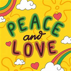 Love And Peace : peace and love lettering vector download free vectors ~ A.2002-acura-tl-radio.info Haus und Dekorationen