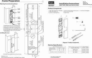 Hes 9600 Electric Strike Wiring Diagram