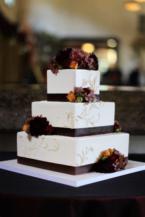 awesome wedding cakes   fall wedding