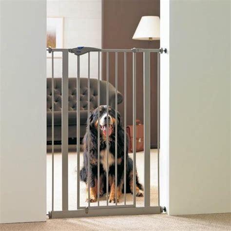 barriere escalier pour chien barri 232 re de porte pour chien hauteur 107 cm trappe chati 232 re et barri 232 re de porte