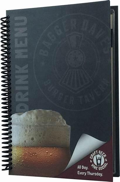 Spiral Notebook Menu Clipart Binding Covers Transparent