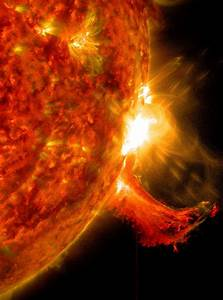 The Approaching Solar Storm's Effect On Planet Earth : A ...
