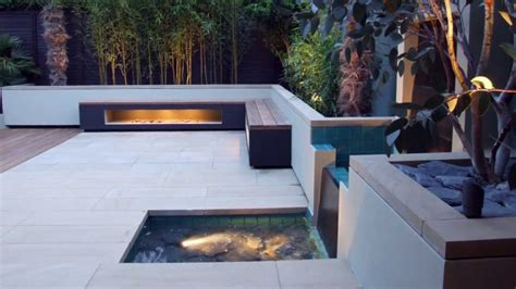contemporary landscaping   north london  garden