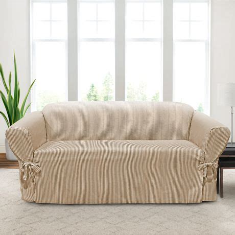 Sure Fit Sofa Covers Canada by Sure Fit Muskoka Stripe Relaxed Fit Sofa Slipcover