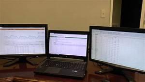 Hp 8570w Elitebook With 4 Monitor Setup
