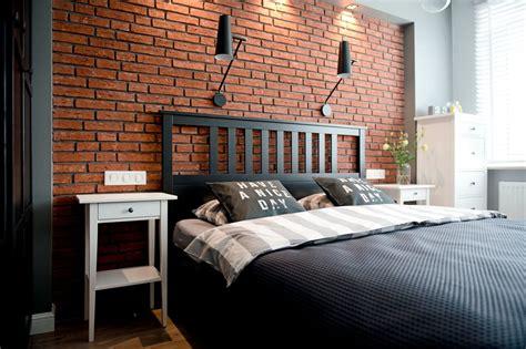 chambre avec mur de briques apparentes picslovin