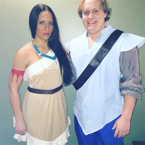 disney pocahontas and john smith halloween costume