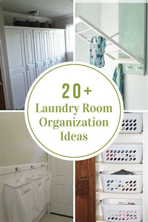 Laundry Room Organization Ideas  The Idea Room