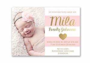 birth announcements cards birth announcements templates With online baby announcement templates