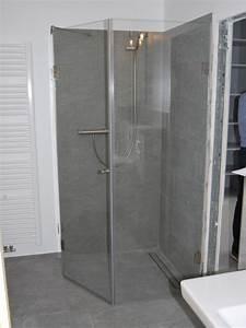 Duschkabine Aus Kunststoff : glas duschkabine simple lsung fr ecke und schrge glas fr heidelberg with glas duschkabine ~ Indierocktalk.com Haus und Dekorationen