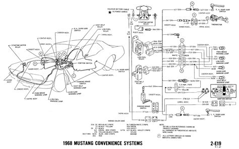 1967 Ford Mustang Wire Harnes Diagram by Ford Mustang Wire Harness Wiring Library