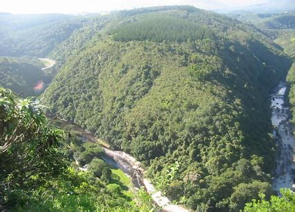 map  africa wilderness garden route