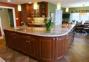 kitchen island shapes kidney shaped island kitchen captainwalt com