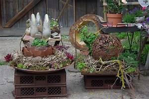 Gartendeko Rost Selber Machen : garten deko kevinblog ~ Orissabook.com Haus und Dekorationen