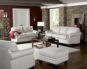White, U0026, Blue, Striped, Fabric, Cottage, Style, Sofa, U0026, Loveseat, Set