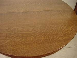 54quot Round Oak QuotHastings Table Coquot Dining Table With 4 Leaves