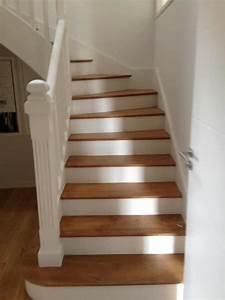 peindre un escalier l39atelier des couleurs With peindre des escalier en bois 0 comment repeindre facilement un escalier en bois