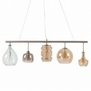 Lampe 5 Flammig : loistaa pendelleuchte brooklyn i metall glas 5 flammig ~ Lateststills.com Haus und Dekorationen