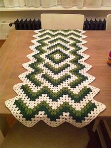 De 25  Bedste Id U00e9er Inden For Crochet Table Runner P U00e5
