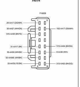 Ford Focus Central Locking Module Wiring Diagram