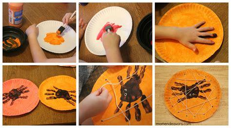 Handprint Spiders In A Diy Lacing