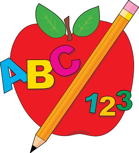 School Clipart Apple Clipart Clipartion