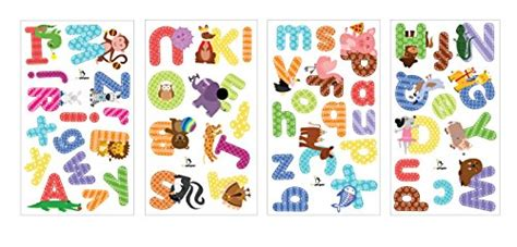 Animal Alphabet Wall Decals-baby And Toddler Wall Decor