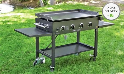 36 flat top grill blackstone 36 quot griddle groupon 3876