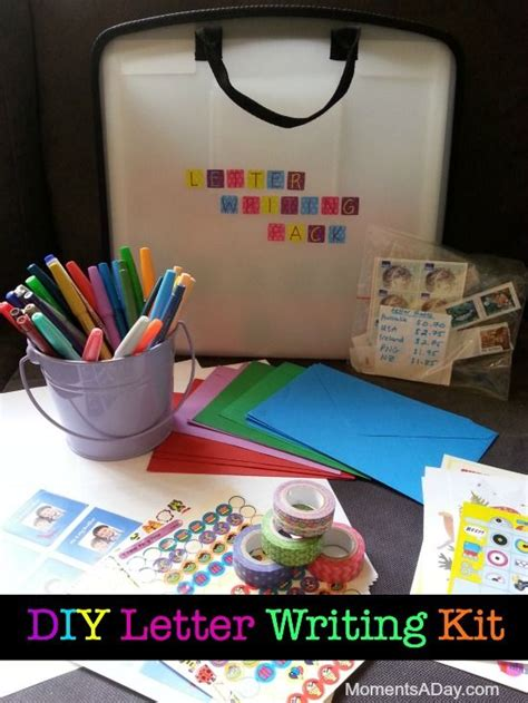diy letter writing kit  child pens  children
