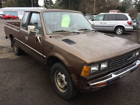 Datsun 720 For Sale by 1981 Datsun 720 King Cab For Sale Sweet Home Oregon