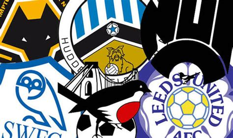 Blast from the past! Every Championship team's old badge ...