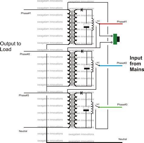 single phase preventer circuit diagram circuit and