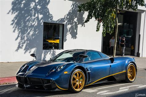 Pagani Huayra 730s Delivered In The