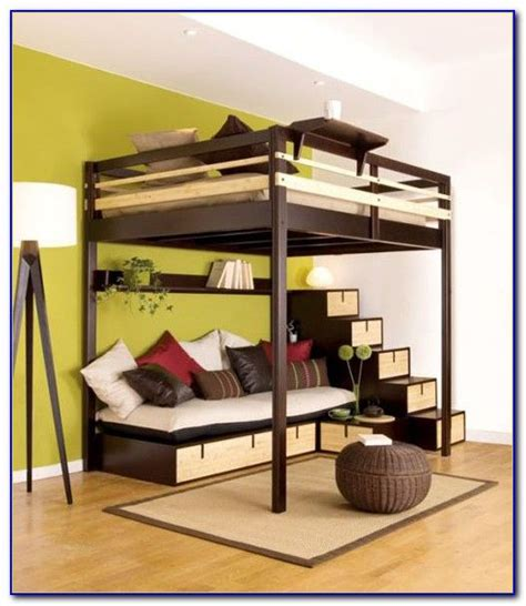 loft bed with size loft bed frame plans for the home