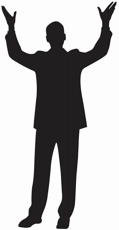 Silhouette Hands Clipart Clip Transparent Zombie Arm