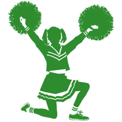 cheerleading clipart about