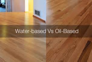 water based vs oil based polyurethane floor finish apps