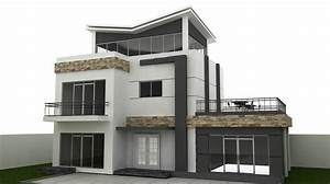 AutoCAD Model For Building And Villa - Exterior! Download