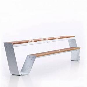 Banc Exterieur Design : banc hopper bench pour terrasse et jardin extremis ~ Teatrodelosmanantiales.com Idées de Décoration