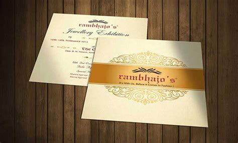 invitation card design agency  mumbai dzine