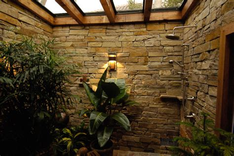 Tropical Shower by Coastal Tropical Bathroom Ta By Arieno Custom