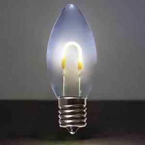C9, Cool, White, Shatterproof, Flexfilament, Tm, Led, Vintage, Christmas, Light, Bulbs