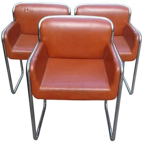 lounge chair with desk arm john stuart chrome arm vintage chairs desk lounge dining